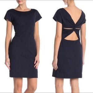Theory   Andrizza short twist back dress